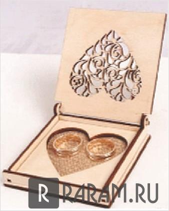 Коробка для обручального кольца