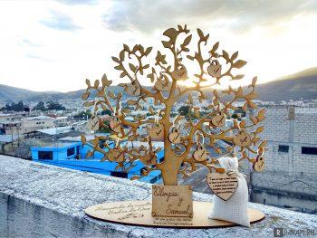 Золотое свадебное дерево