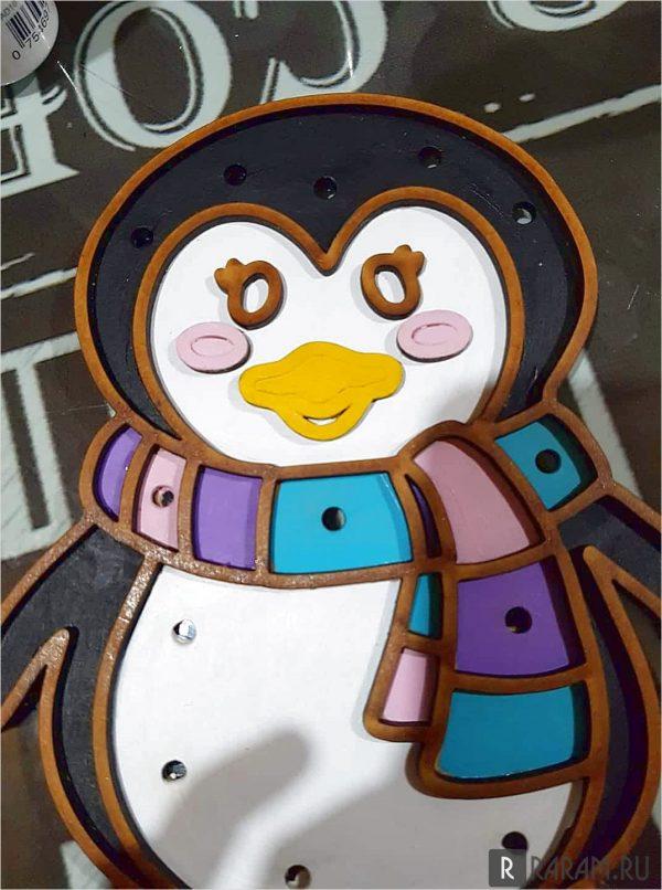 Декоративный пингвин