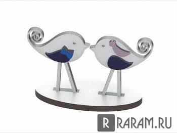 Элегантные любовные птицы