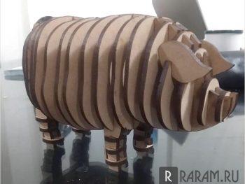3d свинья