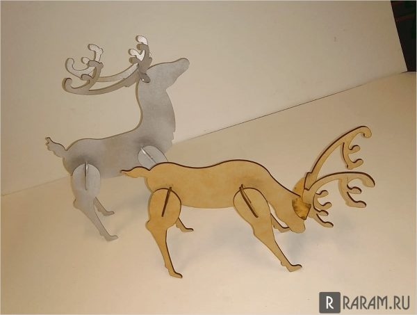 3D олень