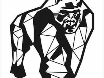 Геометрическая горилла