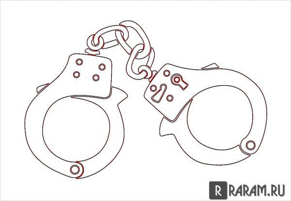 Полицейские наручники