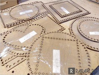 Основы разных геометрических фигур для вязания