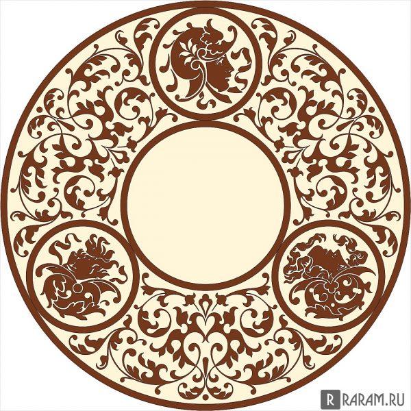 Греческий круговой орнамент