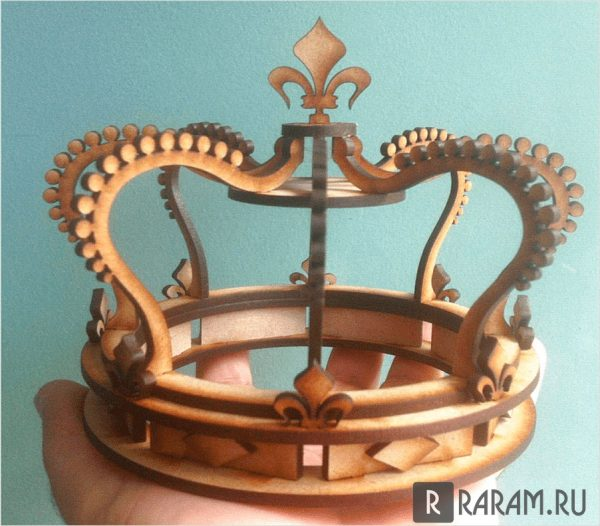 Объемная корона