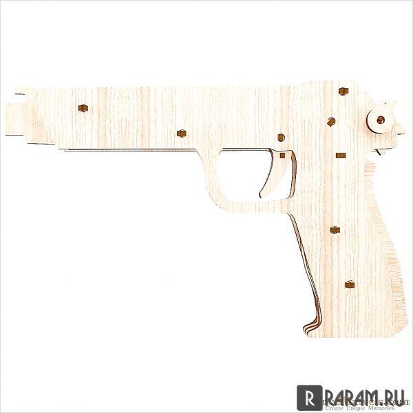 Силуэт огнестрельного оружия