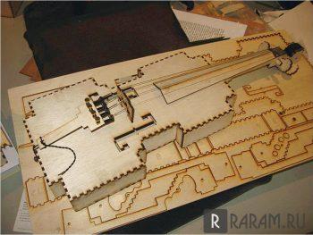 Скрипка 3D