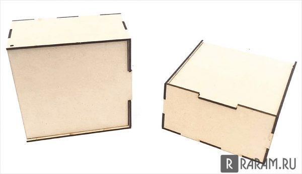 Квадратная коробка