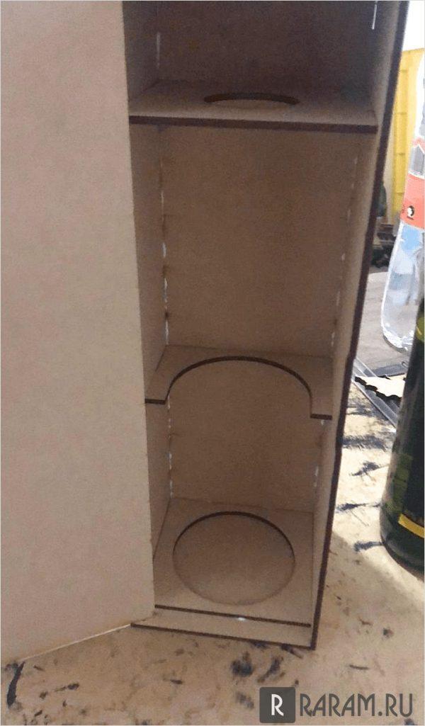 Простая коробка для бутылок