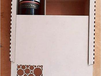 Разделенная коробка для вина