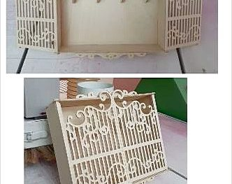 Ящик для ключей с решеткой