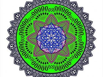 Круговое украшение - мандала
