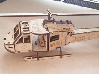 Трехмерный вертолет