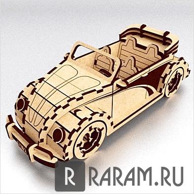 3D конструктор автомобиля