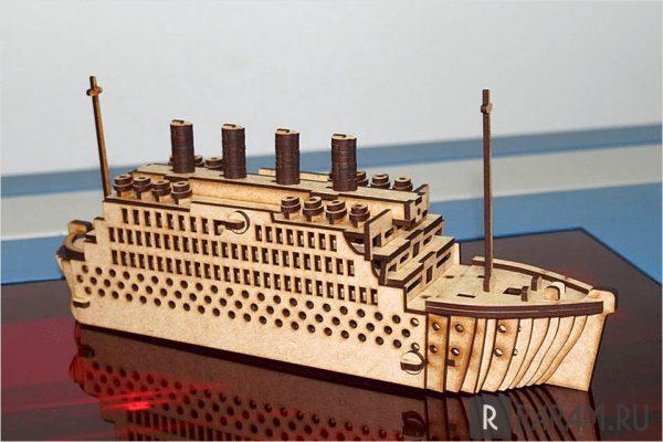 Титаник в 3D