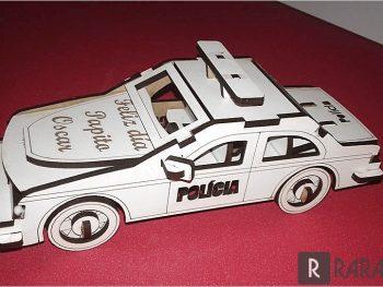 Полицейский патруль в 3D