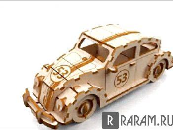 Старый седан в 3D