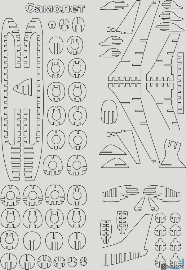 Вооружаемый коммерческий самолет