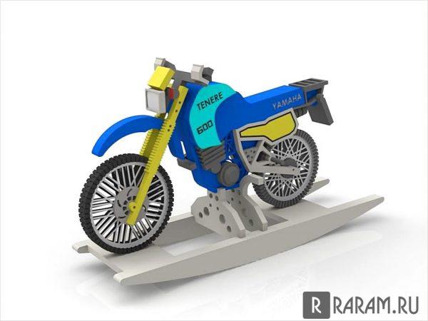 Мотоцикл в 3D