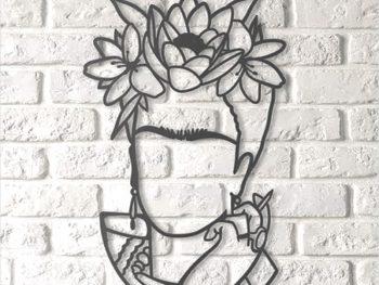 Ажурный образ Фриды Кало
