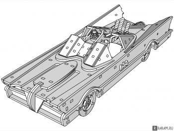 Футуристический автомобиль