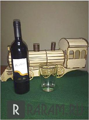 Бутылочный локомотив