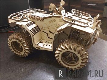 Квадроцикл в 3D