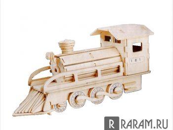 3D паровоз