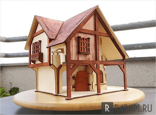 Маленький загородный дом