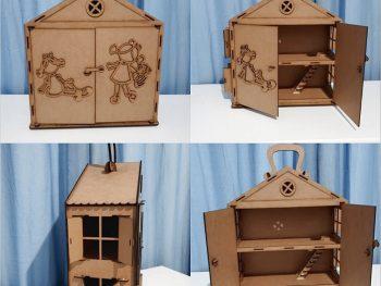 Портативный кукольный домик