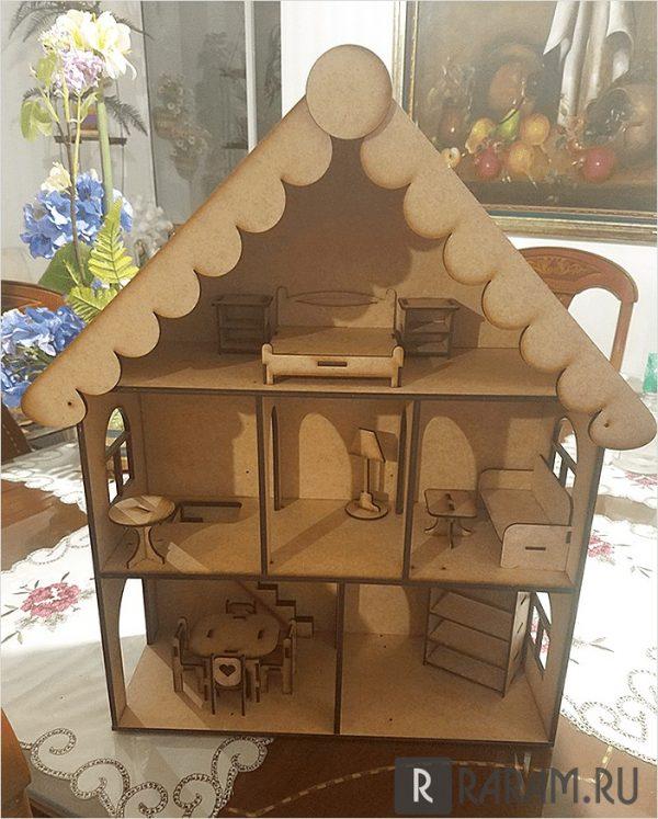 Дом с мебелью
