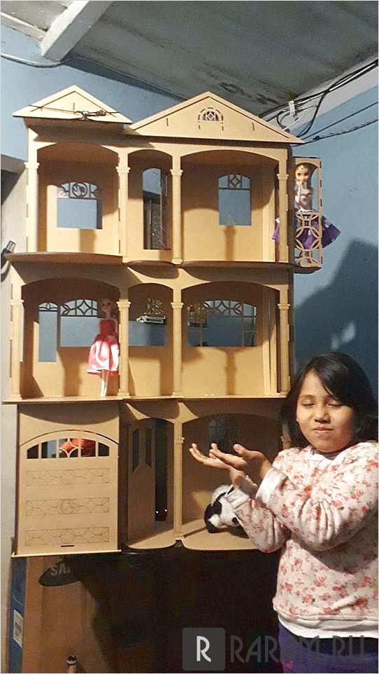 Кукольный домик с лифтом