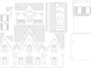 Дом с арочными окнами