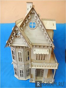 Кукольный домик из МДФ