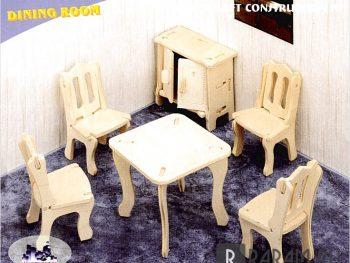 Миниатюрная столовая