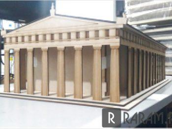 Здание с колоннами