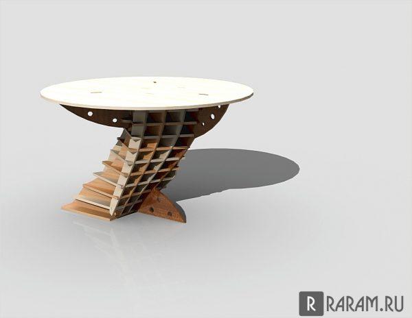Асимметричный круглый стол