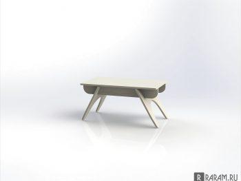 Прямоугольный журнальный столик
