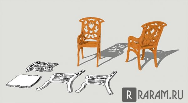 Миниатюрный стул