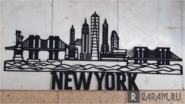 Украшение в виде Нью-Йорка