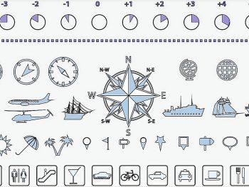 Транспортные и навигационные символы